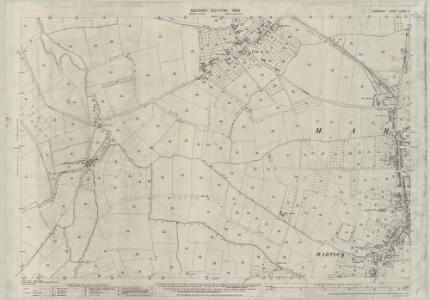 Somerset LXXXII.5 (includes: Kingsbury Episcopi; Martock; South Petherton) - 25 Inch Map
