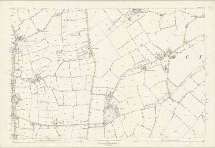 Suffolk LV.12 (includes: Buxhall; Rattlesden) - 25 Inch Map