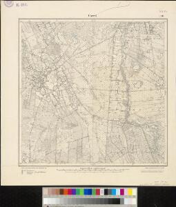 Meßtischblatt 1520 : Garrel, 1900