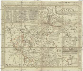 Accurate geographische delineation der in dem Meisnischen Creisse des Churfürstenthums Sachsen liegenden Dioeces oder des Ammtes Grossen Hayn