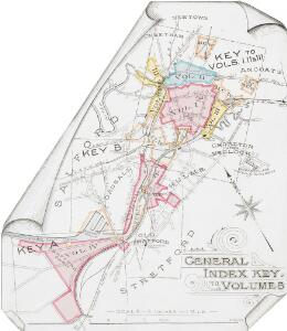 Insurance Plan of the City of Manchester Vol. IV: General Index Key to Volumes (2)