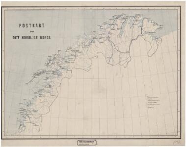 Spesielle kart 7: Postkart over det nordlige Norge