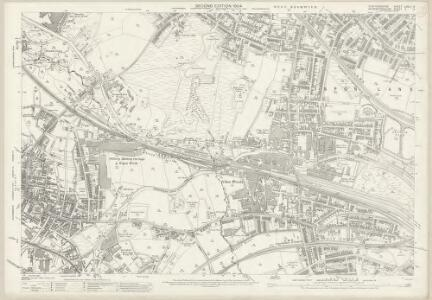 Staffordshire LXVIII.14 (includes: Oldbury; Smethwick; West Bromwich) - 25 Inch Map