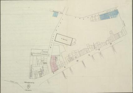 A Plan of the Property that was sold in the Strand & Chandos Street June 25th 1830
