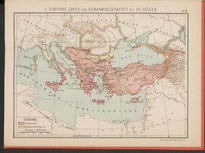 L'Empire Grec au Commencement du IX.e siècle
