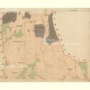 Beneschau - c0113-2-001 - Kaiserpflichtexemplar der Landkarten des stabilen Katasters