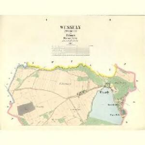 Wessely (Wesely) - c8509-1-001 - Kaiserpflichtexemplar der Landkarten des stabilen Katasters