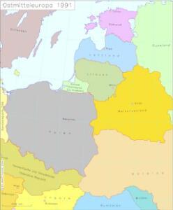 Ostmitteleuropa 1991