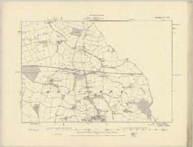 Dorset IV.SE - OS Six-Inch Map