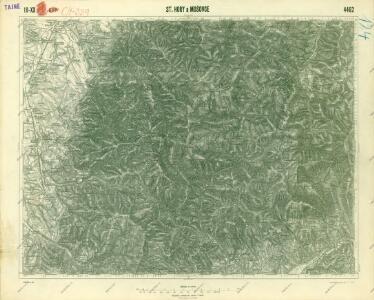 III. vojenské mapování 4462