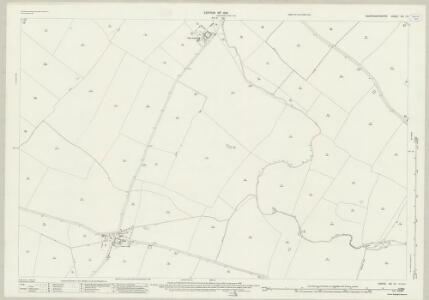 Huntingdonshire XIII.14 (includes: Alconbury Weston; Buckworth; Hamerton; Upton and Coppingford) - 25 Inch Map