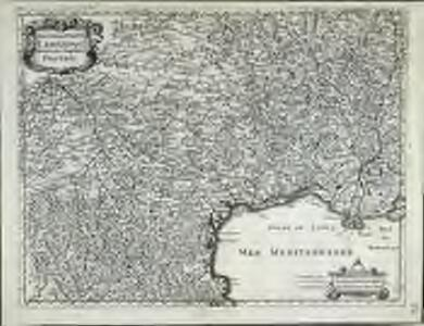 Gouvernem.t gen.ral du Languedoc, divisé en ses vingtdeux dioceses