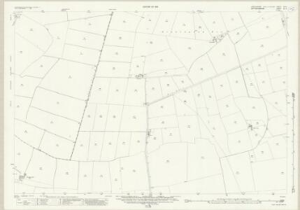 Lincolnshire CIII.4 (includes: Balderton; Cotham; Long Bennington) - 25 Inch Map