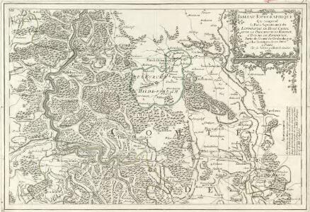 Tableau Topographique Qui comprend la Partie Septentrionale du Landgraviat de Hesse Cassel et de la Principauté de Waldeck, l'Eveché de Paderborn, Partie du Comté de Grubenhague et les Frontieres de ces Etats