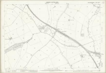 Northamptonshire XXXII.2 (includes: Broughton; Kettering; Pytchley) - 25 Inch Map