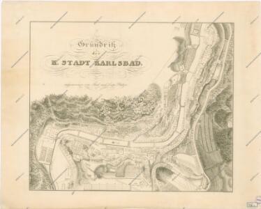 Grundriss der K. Stadt Karlsbad