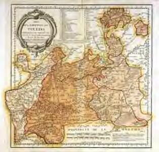 Mapa de la provincia de Toledo