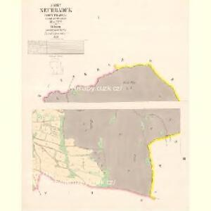 Neuhradek (Nowy Hradek) - c5312-1-001 - Kaiserpflichtexemplar der Landkarten des stabilen Katasters
