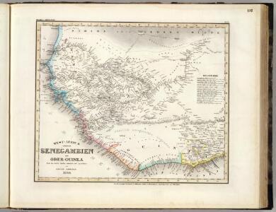 West-Africa, Senegambien, Ober-Guinea.