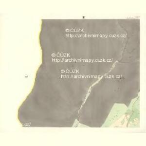 Rožnau (Rožnow) - m2628-1-003 - Kaiserpflichtexemplar der Landkarten des stabilen Katasters