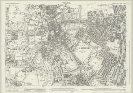 Cambridgeshire XLVII.2 (includes: Cambridge) - 25 Inch Map