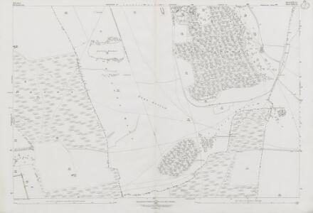 Wiltshire XVII.13 (includes: Ashbury; Baydon; Bishopstone; Lambourn) - 25 Inch Map