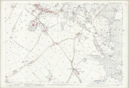 Gloucestershire XXXVIII.12 (includes: Newland; St Briavels; West Dean) - 25 Inch Map