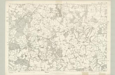 Surrey XLVI - OS Six-Inch Map