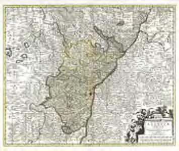 Landgraviatus Alsatiæ inferioris novissima tabula