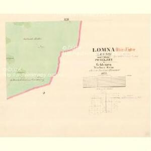 Lomna (Lomno) - m0508-1-020 - Kaiserpflichtexemplar der Landkarten des stabilen Katasters