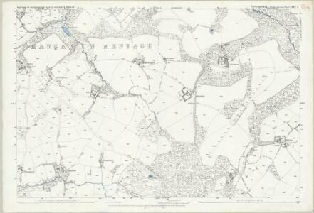 Cornwall LXXX.4 (includes: Mawgan in Meneage; St Martin in Meneage) - 25 Inch Map