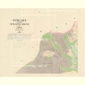Petlarn - c9379-1-001 - Kaiserpflichtexemplar der Landkarten des stabilen Katasters