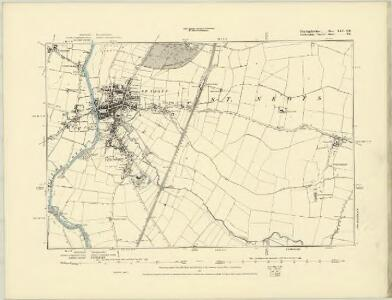 Huntingdonshire XXV.SW - OS Six-Inch Map