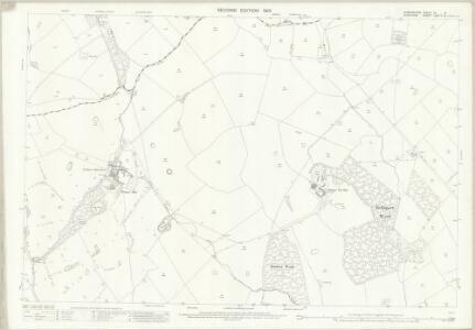 Shropshire IX.3 (includes: Buerton; Norton In Hales; Woore) - 25 Inch Map