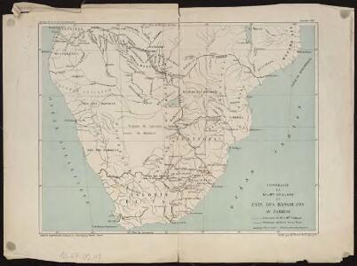 Itinéraire de Mr et Mme Coillard du Pays des Bassoutos au Zambèze