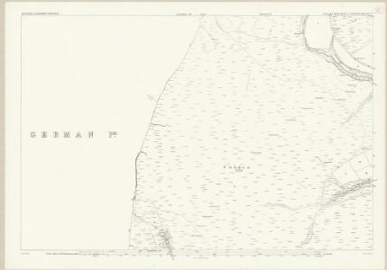Isle of Man X.2 - 25 Inch Map