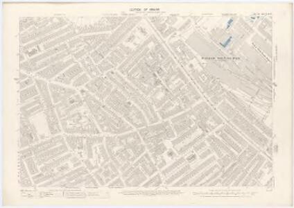 London XI.6 - OS London Town Plan