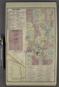 Arcadia [Township]; Arcadia Business Notices. ; New Ark Business Notices. ; Fairville [Village]; Newark [Village]