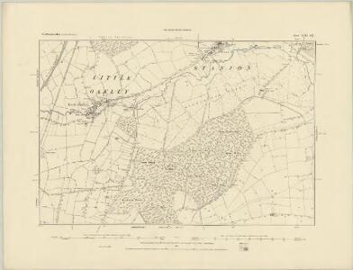 Northamptonshire XVII.SW - OS Six-Inch Map