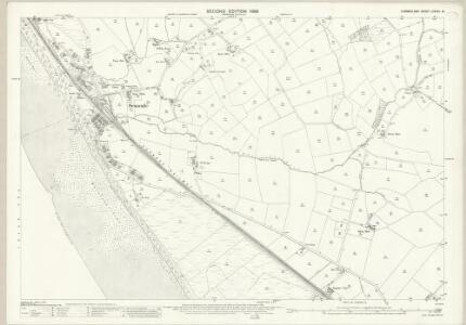 Cumberland LXXVIII.13 (includes: Drigg and Carleton) - 25 Inch Map