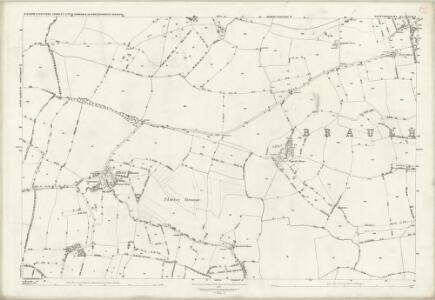 Hertfordshire XXIII.9 (includes: Bishops Stortford; Little Hadham; Thorley) - 25 Inch Map