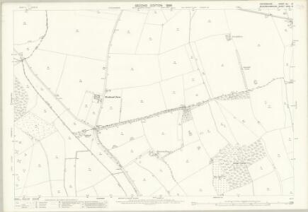 Oxfordshire XLI.8 (includes: Chinnor; Sydenham; Thame; Towersey) - 25 Inch Map