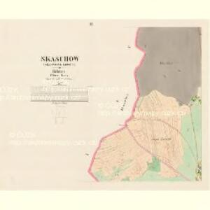 Skaschow (Skassowa Lhotta) - c6928-1-002 - Kaiserpflichtexemplar der Landkarten des stabilen Katasters