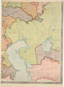 Administrativnaja Karta Evropejskoj časti C.C.C.P.