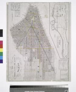 Map of the city of New York, 1850 / drawn for D.T. Valentine's Manual 1850, by G. Hayward.