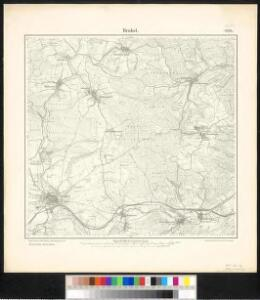 Meßtischblatt 2370 : Brakel, 1898