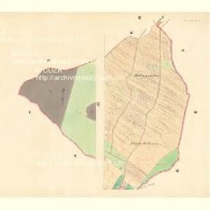 Klein Wrbka - m1692-1-002 - Kaiserpflichtexemplar der Landkarten des stabilen Katasters