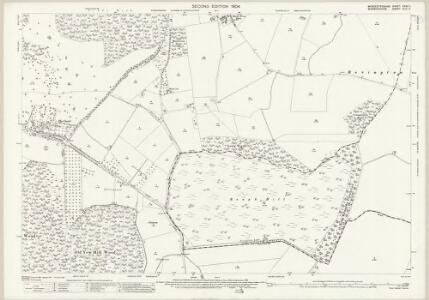 Worcestershire XXXV.11 (includes: Abbots Morton; Church Lench; Rous Lench; Salford Priors) - 25 Inch Map
