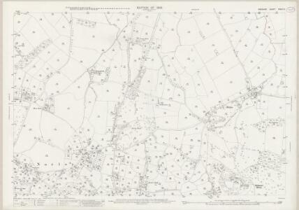 Cheshire XXXIII.10 (includes: Crowton; Cuddington; Norley) - 25 Inch Map