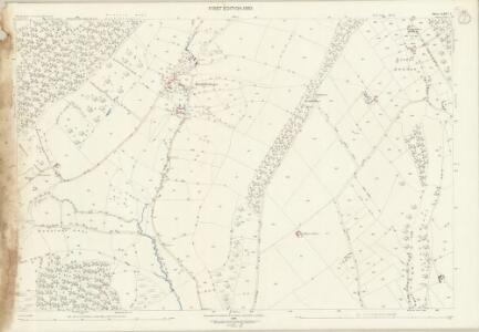 Shropshire LXIV.7 (includes: Diddlebury; Eaton Under Haywood; Munslow) - 25 Inch Map